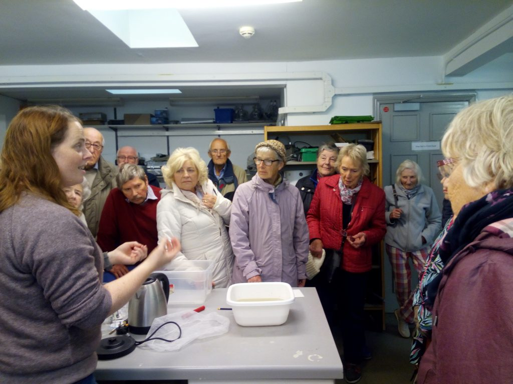 Science Group visit to Marine Research Station at Portaferry