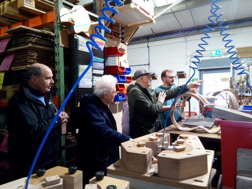 Science Group visit to Lowden Guitars in Downpatrick