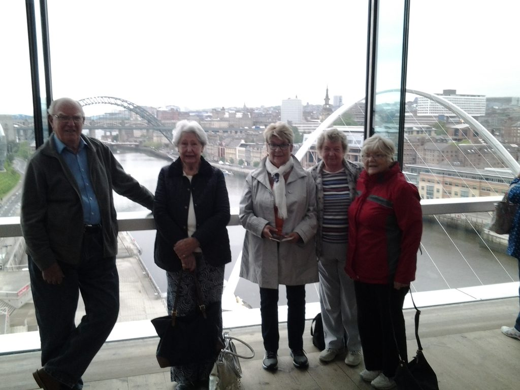 Travel Group visit to Northumbria